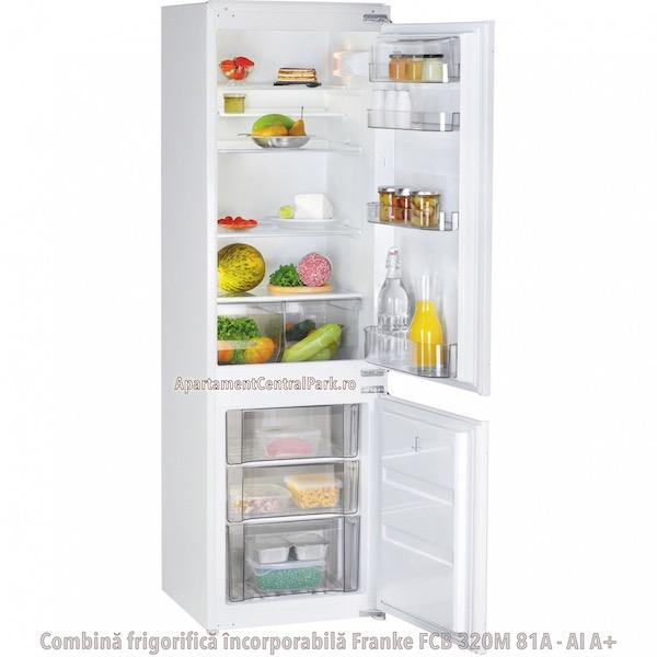 Combina frigorifica incorporabila Franke FCB 320M 81A - AI A+